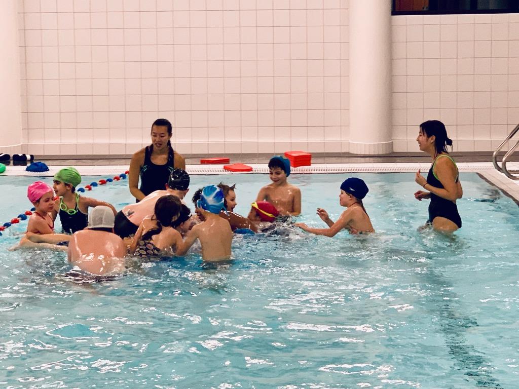 Zwemclub Wimber - Groep 2 Watergewenning Sterk - Speelmoment